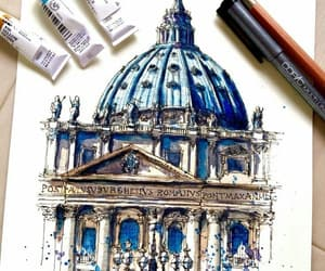 amazing, copic, and blue image