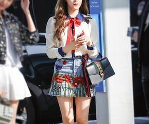 tiffany, airport, and girls generation image