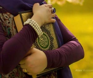 مصحف, قرآن, and حجاب بنات image