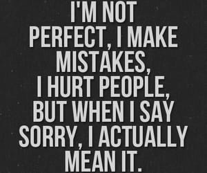 quotes, sorry, and mistakes image