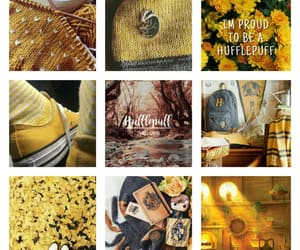 harrypotter, poufsouffle, and aesthectic image