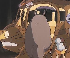 totoro, gif, and My Neighbor Totoro image