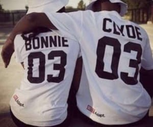 couple, love, and Bonnie image