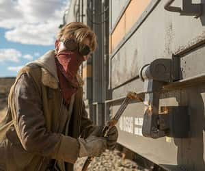 newt, movie, and the maze runner image