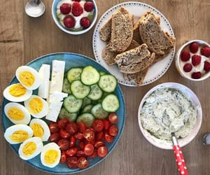 breakfast, healthy, and delicious image