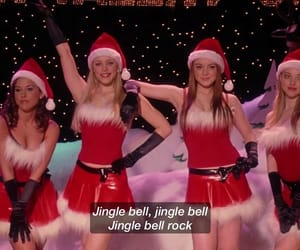 jingle bell, lacey chabert, and lindsay lohan image