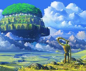 Castle in the Sky, studio ghibli, and ghibli image