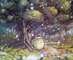 butterfly, Hayao Miyazaki, and nature image