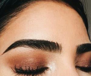 beauty, eyeshadow, and eyebrows image
