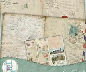 etsy, journaling, and postcards image