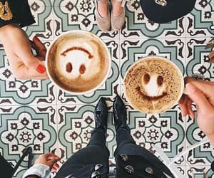 coffee, drink, and smile image