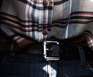 belt, fashion, and shirt image