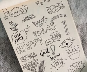art, calligraphy, and doodles image