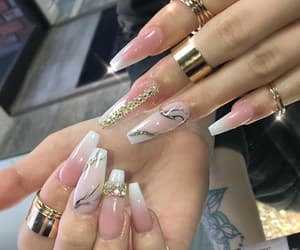 nails, nail goals, and nail inspo image