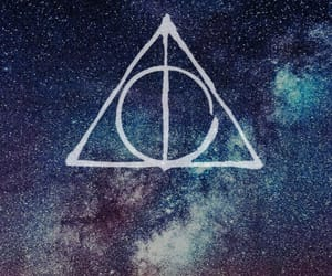 harry potter, wallpaper, and relíquias da morte image