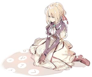 anime, cute, and violet evergarden image