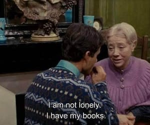 books, lovers, and lonely image