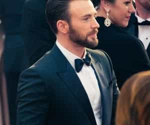 chris evans, actor, and handsome image