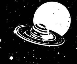 art, gif, and space image