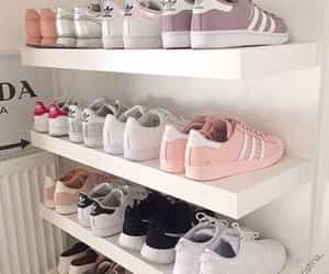 fashion, adidas, and sneakers image