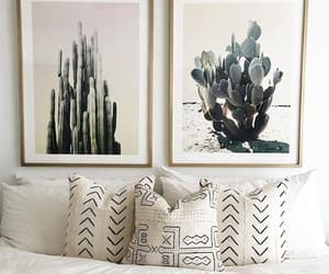 interior, bedroom, and cactus image