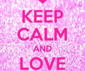 glitter and ​keepcalm image
