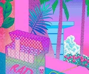 pixel, cigarette, and aesthetic image