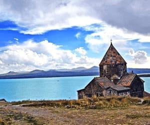 armenia, monastery, and sky image