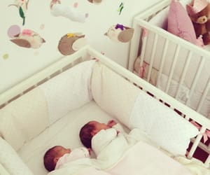 twins and baby image