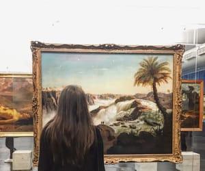 art, artistic, and brunette image