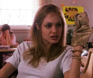 Angelina Jolie, girl interrupted, and gif image