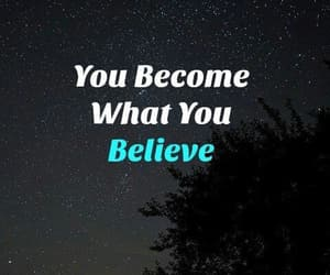 believe, inspiration, and words image