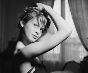 actress, art, and bnw image