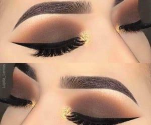 beautiful, cosmetics, and eyeliner image