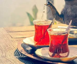 morning, tea, and travel image