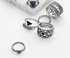 accessories, diamond, and ring image
