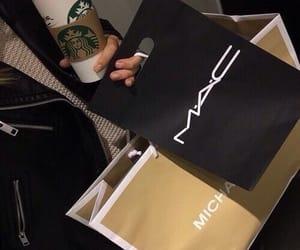 mac, starbucks, and shopping image