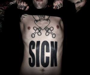 sick and tattoo image