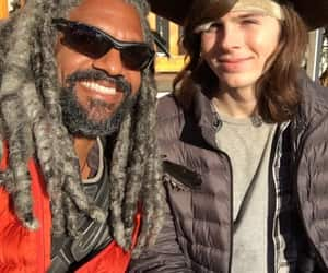 chandler riggs and twd image