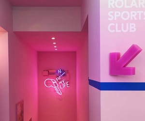 neon, new, and pink glow image