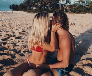 aesthetic, california, and couple image