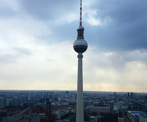 berlin, building, and sights image