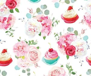 background, cupcake, and cupcakes image