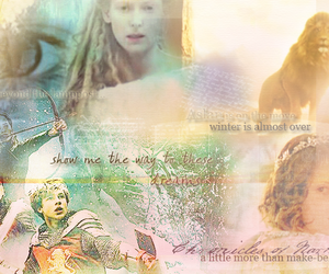 chronicles of narnia, the white witch, and Lucy image