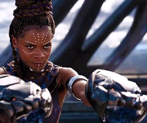 gif, letitia wright, and actress image
