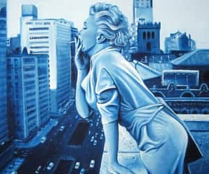 arte, color, and Marilyn Monroe image