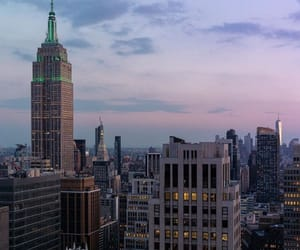 buildings, empire state building, and city image