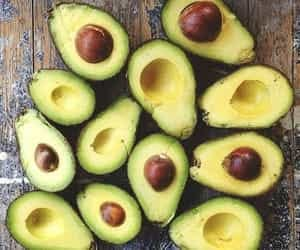 article, vegetarian, and avocado image