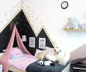 kids, room ideas, and rooms image