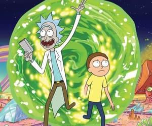rick and morty, cartoon, and rick image